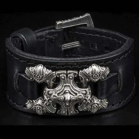 William Henry Horween Dublin | Mens leather cuff bracelets