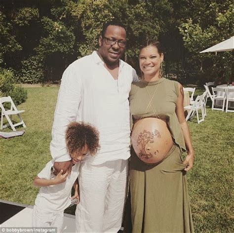 PHOTOS- Bobby Brown and Wife Alicia Celebrate Arrival of