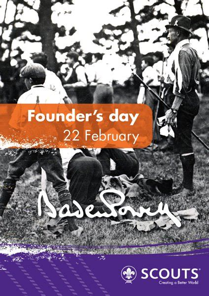 First Kajang Scout Troop Official Webpage: Happy Founder's Day