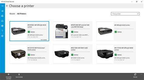 HP's All-in-One Printer Remote app now a Universal Windows