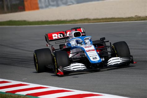 Super day 1 of F1 pre-season test for Williams Racing