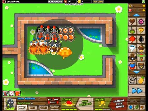 Bloons Tower Defense 5:Tutorial - How to max out the Sun