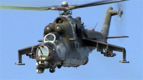 Czech Air Force Mil Mi-24 Hind - Very low Rehearsal @ Nato