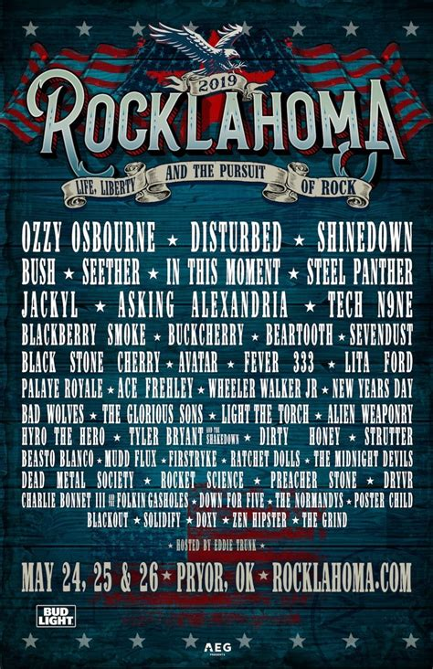 Rocklahoma 2019   The MFW Music Festival Guide