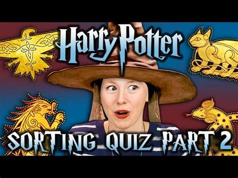 SORTING HAT QUIZ #2 - HARRY POTTER ILVERMORNY HOUSES
