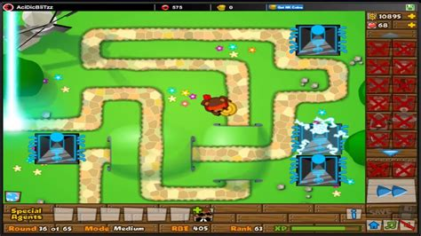 Bloons Tower Defense 5 - BTD5 - B Day - Daily challenge