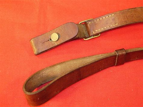 M1 Carbine Leather Sling Austrian 1956 For Sale at