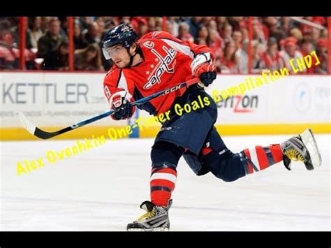 Alex Ovechkin One - Timer Goals Compilation [HD] - YouTube