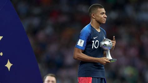 Kylian Mbappe wins World Cup Young Player award - World