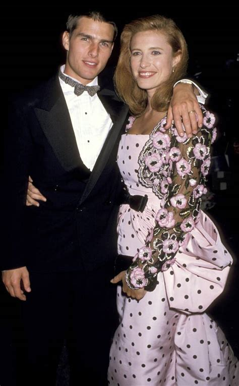 Tom Cruise & Mimi Rogers from Throwback: Couples at the