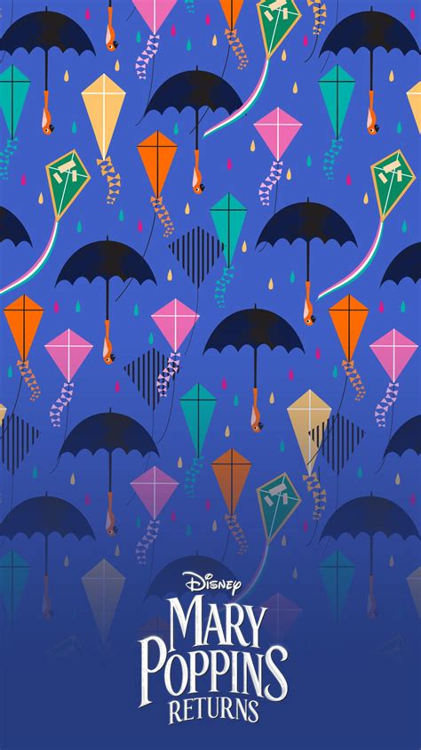 Mary Poppins Returns Mobile Wallpapers   Disney Malaysia