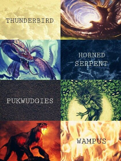 The Official Ilvermorny School Houses THUNDERBIRD HORNED