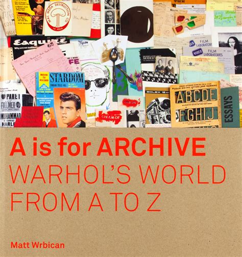 A_is_for_Archive - Pittsburgh Arts & Lectures