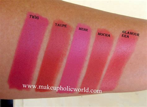 Review & Swatches of 14 MAC Lipsticks | Makeupholic World