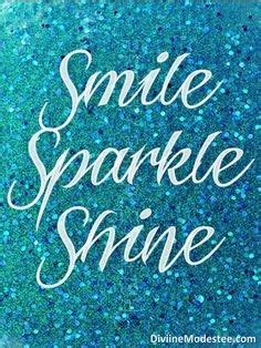 Glittery Sun Shining Smiling Quotes