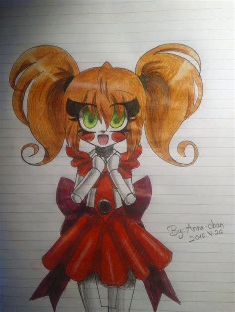 Anna~Chan this is completely adorable and kawaii!! | Fnaf